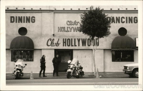 Club Hollywood Dancing Dining, Motorcycle Police Motorcycles