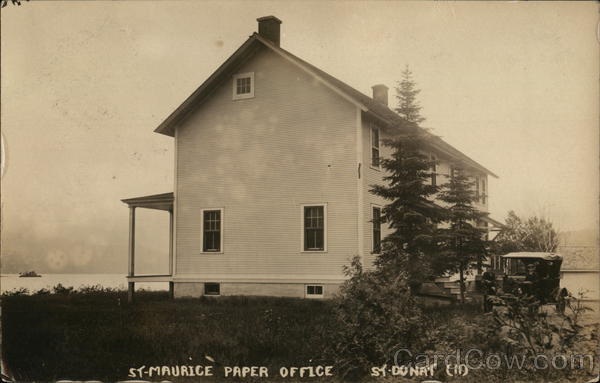 St-Maurice Paper Office St-Donat Canada Quebec