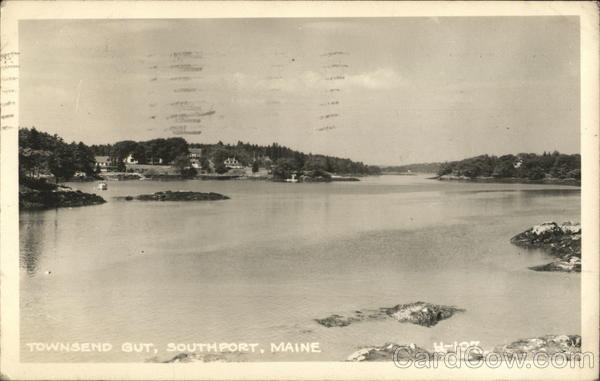 Townsend Gut, Southport, Maine