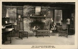 The Common Room Fireplace - Adelynrood, South Byfield, Mass