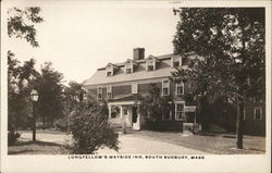 Longfellow's Wayside Inn - South Sudbury, Mass Postcard