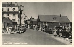 Boothbay Harbor, Maine - street scene