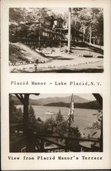 Placid Manor - Lake Placid, NY - View from Placid Manor's Terrace