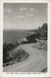 The Cabot Trail, Keltic Lodge, Nova Scotia