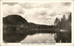 Echo Lake, North Conway, New Hampshire Postcard