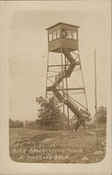 Fire Observation Tower at Steerage Rock