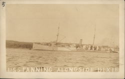 USS Fanning Alongside Dixie