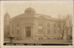 Baptist church, Ames, Iowa