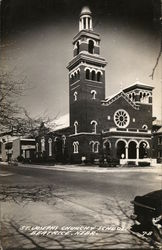 St. Joseph's Church & School. Beatrice, Nebr.