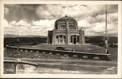 The Vista House, Crown Point - Columbia River Highway