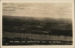 The Conn. and Northampton From Mt Holyoke
