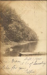Saratoga Lake - Sept, 1905