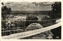 Sky Bridge - Rock City Gardens - Lookout Mt