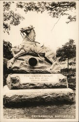 Chickamauga Battlefield - First Wisconsin Cavalry Monument
