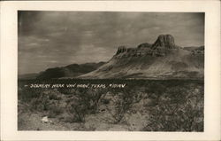 Scenery Near Van Horn, Texas