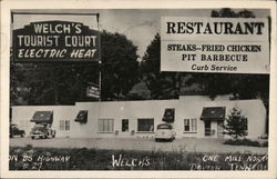 Welch's Tourist Court and Restaurant