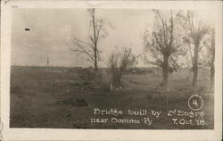Bridge Built by 2d Engineers Near Somme-Py