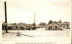 33rd Infantry Training Battalion, Camp Croft, SC