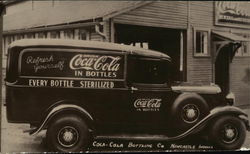 Antique Coca Cola Truck (1960's print)