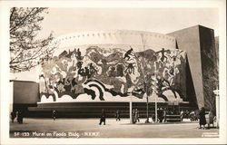 Mural on Foods Building - New York Worlds Fair