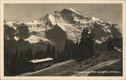 Railway and Jungfrau