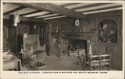 The old kitchen - Longfellow's Wayside Inn, South Sudbury, Mass.
