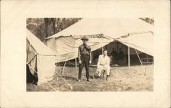 Soldiers with Tent