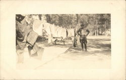 Vintage Park Ranger on Laundry Day
