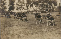 Soldiers Firing Rifles