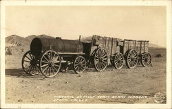 Historic 20 Mule Team Borax Wagons - Death Valley