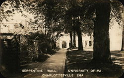 Serpentine Wall - University of Va.