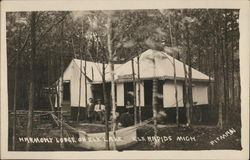 Harmony Lodge on Elk Lake Postcard