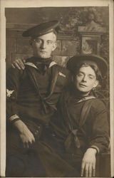 Two Sailors Posing