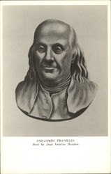 Bust of Benjamin Franklin by Jean Antoine Houdon