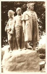 Colonizers of the West - Monument by Gutzon Borglum