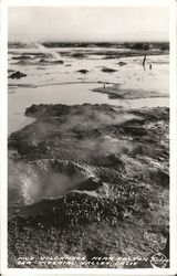 Mud Volcanoes Near Salton Sea, Imperial Valley, Calif.