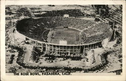 The Rose Bowl, Pasadena, Calif.