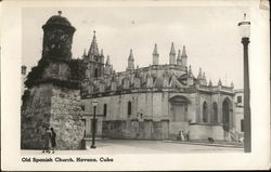 Old Spanish Church - Havana, Cuba