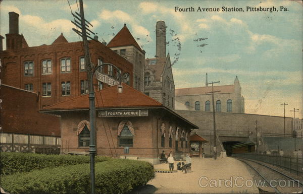 Fourth Avenue Station Pittsburgh Pennsylvania