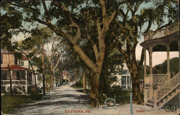 Street Scene Daytona Beach Florida
