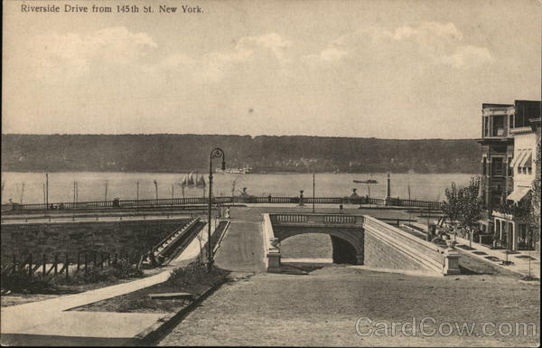 Riverside Drive From 145th Street New York