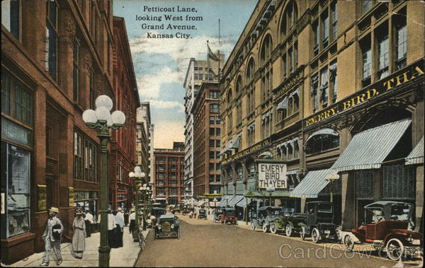 Petticoat Lane, Looking West From Grand Avenue Kansas City Missouri