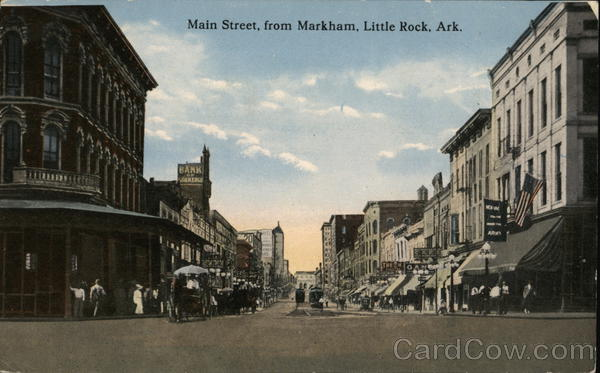 Main Street from Markham Little Rock Arkansas