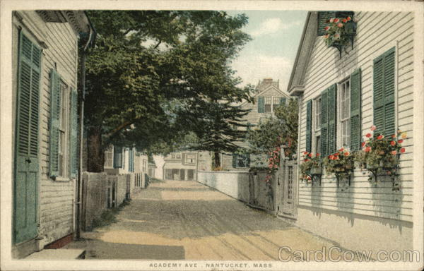 Academy Ave Nantucket Massachusetts