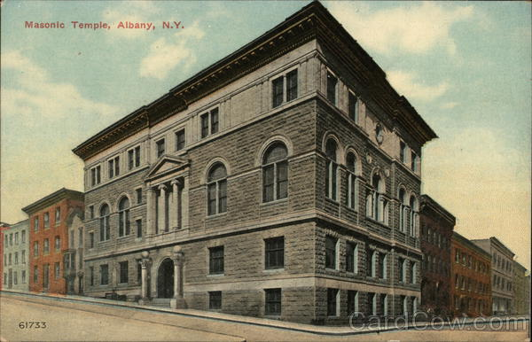 Masonic Temple Albany New York Freemasonry