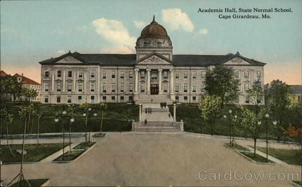 Academic Hall, State Normal School Cape Girardeau Missouri