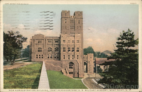 U.S. Military Academy - New Administration Building West Point New York
