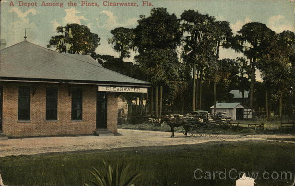A Depot Among the Pines Clearwater Florida Depots