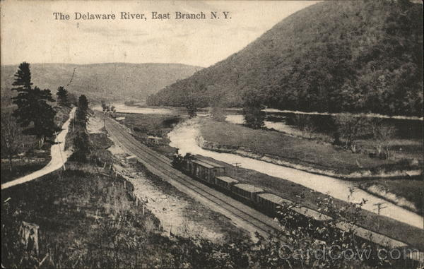 The Delaware River East Branch New York