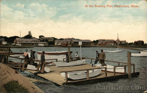 At the Boating Pier Nantucket Massachusetts